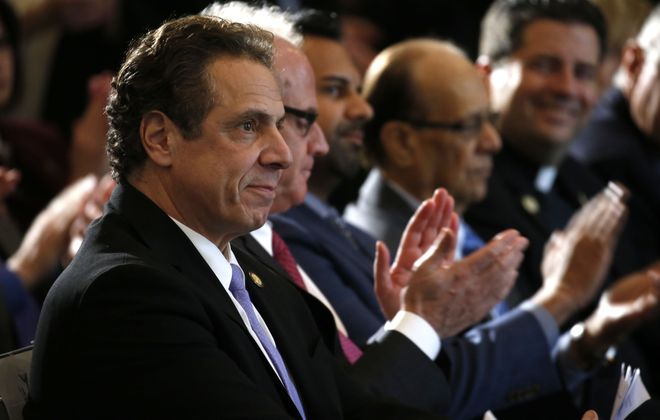 Gov. Andrew Cuomo offers his analysis of what Democrats must do to win back voters, in the wake of GOP victories in November.  (Robert Kirkham/Buffalo News)