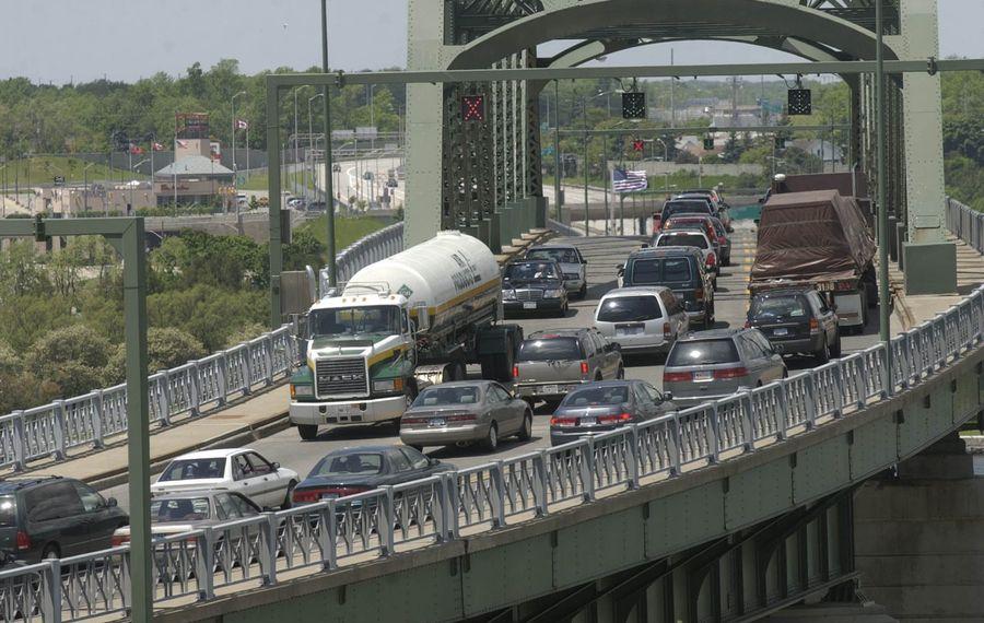 The Peace Bridge. (News file photo)