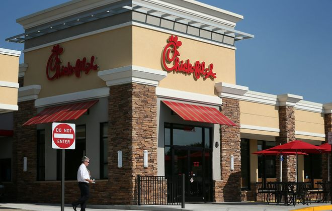 Cheektowaga has a Chick-fil-A but backlash quickly mounted after plans to bring the eatery to the Buffalo airport were scuttled last week. (Getty Images)