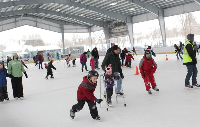 The Healthy Zone Rink in East Aurora hosts public skating several days each week. (Sharon Cantillon/News file photo)