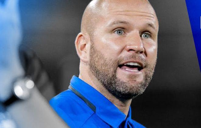 Former UB men's soccer coach Davie Carmichael will join the Cal Poly staff. (via UB Athletics)