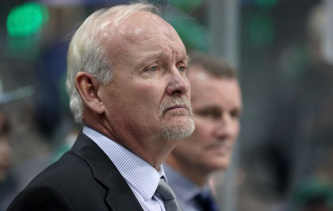 Dallas coach Lindy Ruff sees a much-improved team in Buffalo. (Getty Images)
