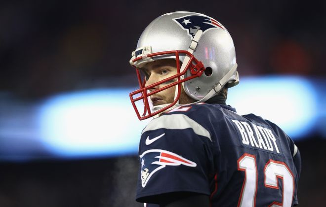 Tom Brady and the Patriots are appearing in their sixth straight AFC Championship Game. (Getty Images)