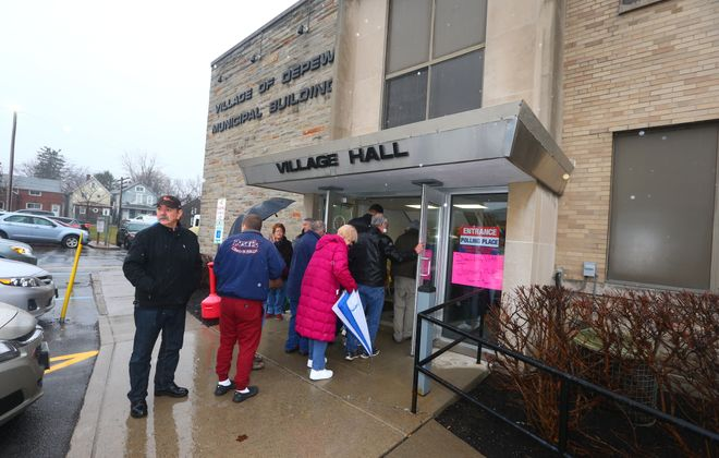 Depew residents voted overwhelmingly to keep their village government. But what's next? (John Hickey/Buffalo News)