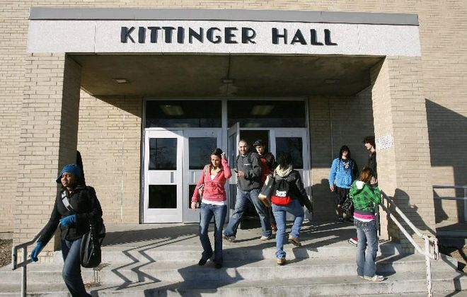 Erie Community College students will likely be paying more to attend classes in Kittenger Hall and other campus facilities for the seventh consecutive year. (Derek Gee/News file photo)