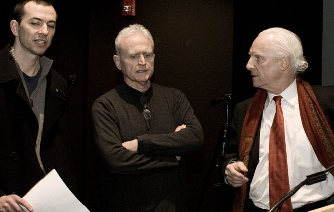 """Neil Wechsler, left, David Oliver and Vincent O'Neill have combined talents for a new version of """"Faust"""" as part of """"A Musical Feast."""""""