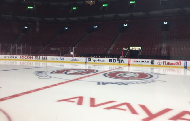 The Sabres will play the Canadiens in the Bell Centre Tuesday night.