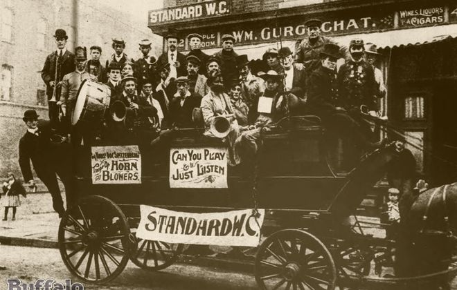 Buffalo in the 1900s: The Standard Wheel Club at Gurgschat's