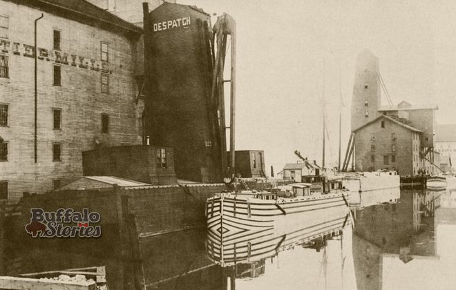 Torn-Down Tuesday: The mills of the Black Rock Canal, 1899