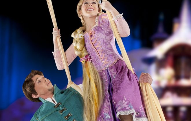 Rapunzel and Flynn will be at Disney on Ice at KeyBank Center.
