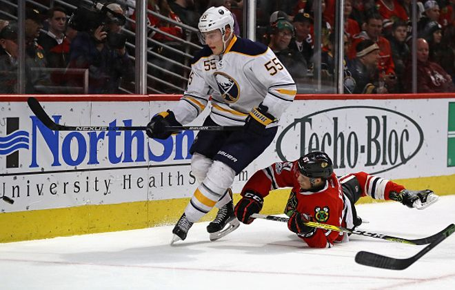 Rasmus Ristolainen set a career high in minutes Friday (Getty Images)