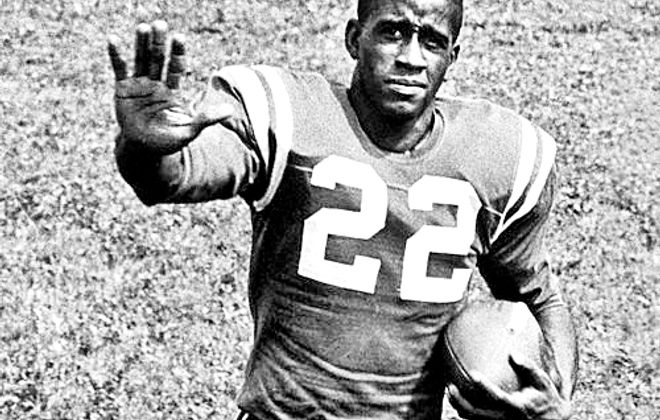 Willie Evans, the star running back on the 1958 University at Buffalo football team. Evans has died, a spokesman for UB confirmed Jan. 5, 2017.