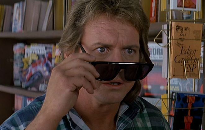 "Rowdy Roddy Piper stars in the John Carpenter cult classic ""They Live."""