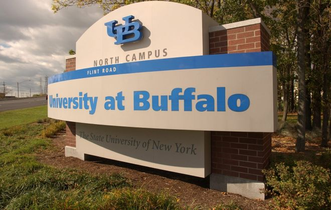The University at Buffalo has about 5,200 international students, not including another 1,500 to 2,000 students on optical practical training, a post-graduation employment period. They represent roughly 17 percent of the entire student body at UB. (The Buffalo News, Robert Kirkham)