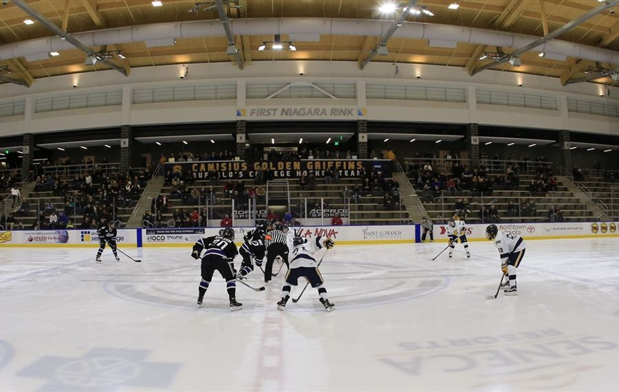 Canisius and Niagara are both on the road this weekend. (Harry Scull Jr./Buffalo News)