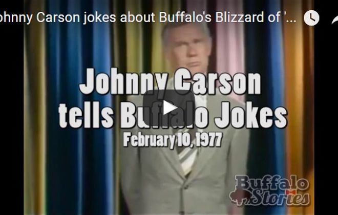 The Blizzard of '77: Buffalo was seemingly endless target of Carson's jokes
