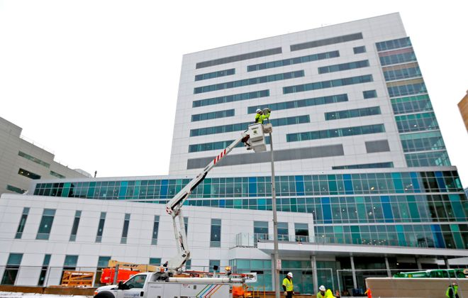The John R. Oishei Children's Hospital opens later this year on the Buffalo Niagara Medical Campus.(Robert Kirkham/Buffalo News)