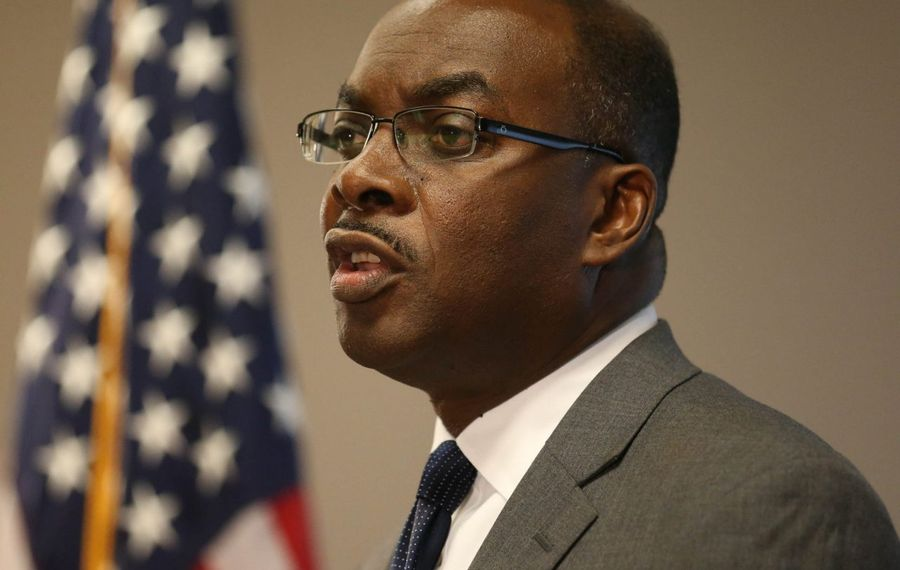 Mayor Byron W. Brown said Thursday, Nov. 7 that he doesn't know why FBI agents executed a search warrant Wednesday at Buffalo City Hall. (Sharon Cantillon/Buffalo News file photo)
