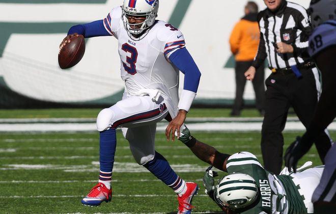 Former Bills quarterback EJ Manuel. (James P. McCoy/News file photo)