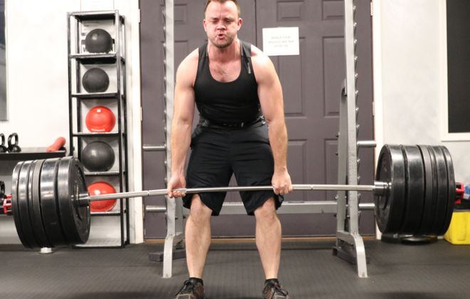 Mike Howard is among those who will compete in the Push Pull competition Saturday at Fierce Fitness to raise money for the Muscular Dystrophy Association.
