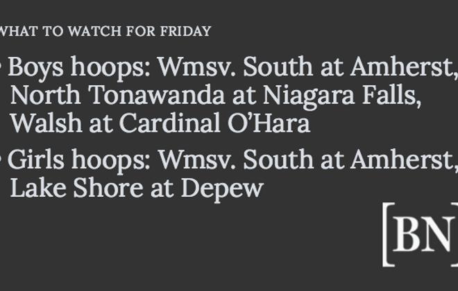 Homeroom Announcements: Friday's big games & more