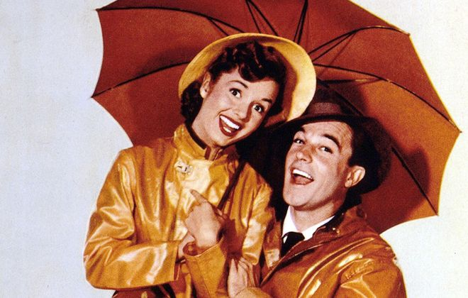 """""""Singin' in the Rain,"""" starring Debbie Reynolds and Gene Kelly, will be shown as part of the Riviera Theatre's """"Throwback Thursdays"""" film series."""
