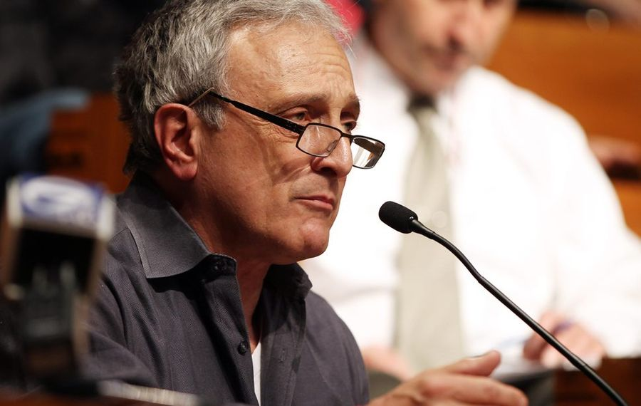 Buffalo School Board will consider a second resolution seeking Carl Paladino's removal from the board for disclosing information from  executive session about teacher contract talks. (News file photo)