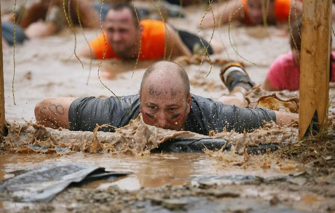 The WNY version of the Tough Mudder will move to Kissing Bridge this year; the cost will go up after Thursday, as well. (Derek Gee/Buffalo News file photo)
