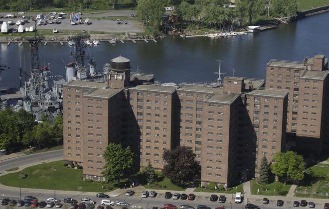 The Marine Drive Apartments. (John Hickey/Buffalo News)