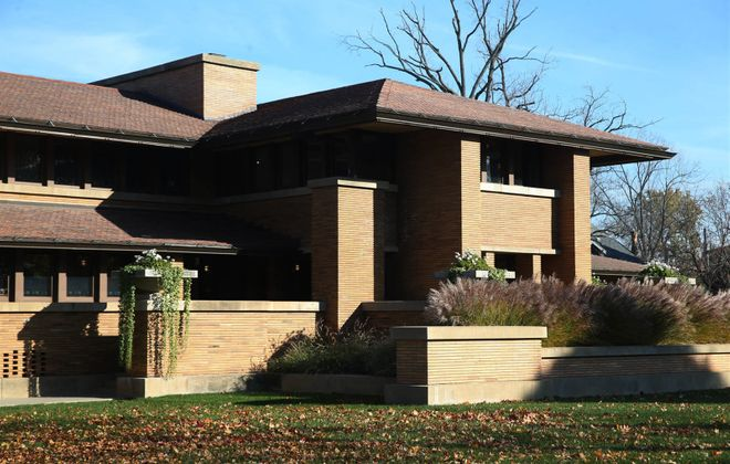 The Darwin Martin House in Buffalo was designed by renowned architect Frank Lloyd Wright and completed in 1905 for Darwin Martin and his family. (Sharon Cantillon/News file photo)