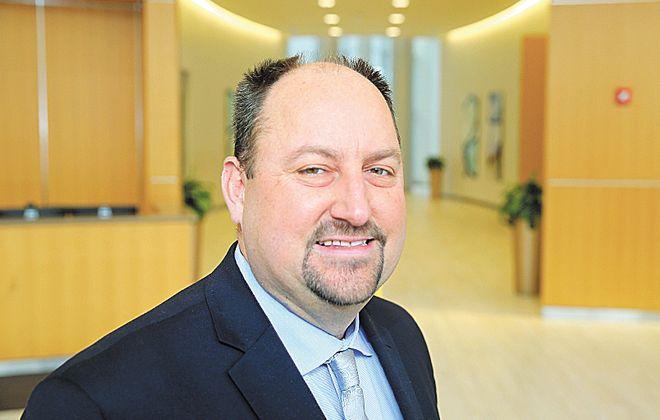 Bob Richardson is the new president of the Upstate New York chapter of NAIOP.  (John Hickey/Buffalo News)