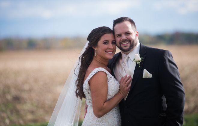 Robert Zuccari and Kelsey Walck married in Niagara Falls