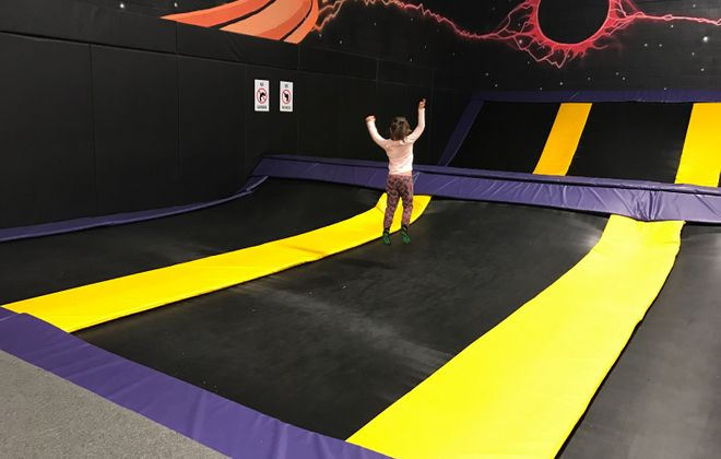 Kids can jump for joy at Get Air. (Mary Friona-Celani/Special to The News)