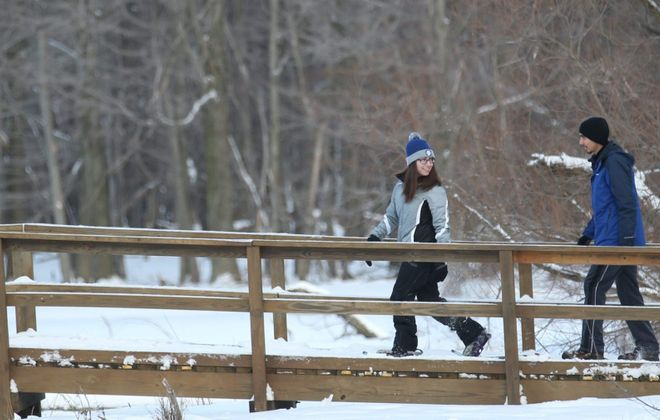 Reinstein Woods State Park in Cheektowaga offers cross-country skiing and snowshoeing, with rentals, as well as special events during winter. (Sharon Cantillon/News file photo)