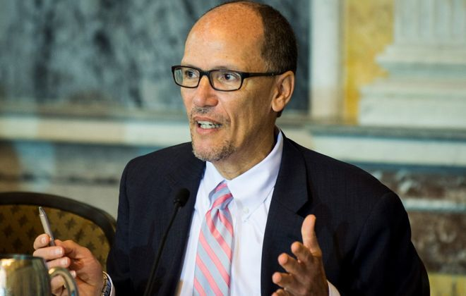 National Democratic Party Chairman Tom Perez iDemocratic National Committee Chairman Tom Perez is considering yet another set of changes to the Democrats' process. (Getty Images)