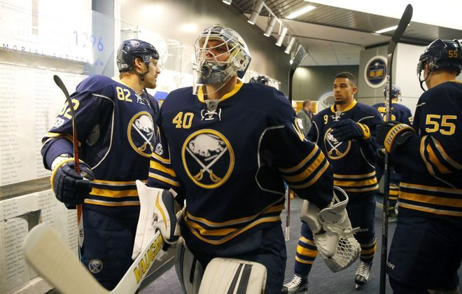 Robin Lehner played for three seasons with the Sabres (Harry Scull Jr./News file photo)