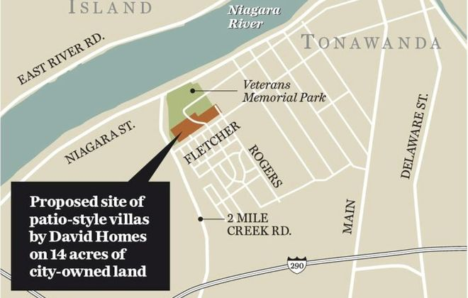 City of Tonawanda agrees to sell 14 acres for condo project