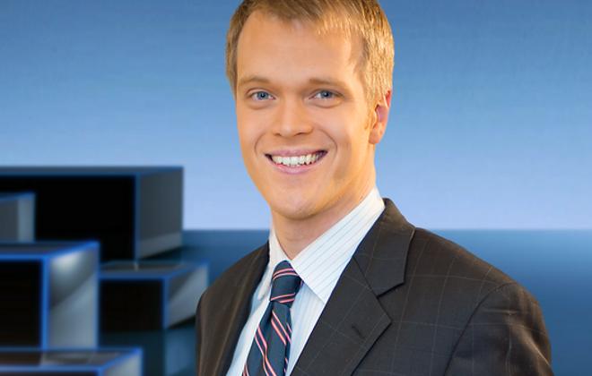Michael Wooten of WGRZ-TV. (Photo courtesy of WGRZ)