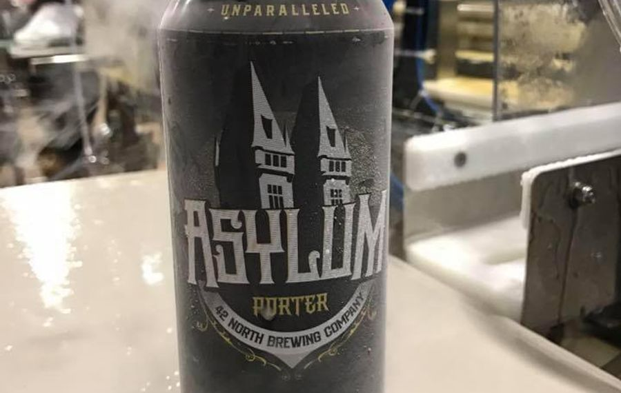 42 North Brewing Company will release cans of Nitro Asylum.