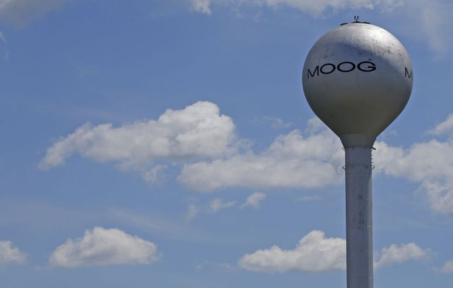 Moog Inc. is winding down its wind energy pitch control business.(Robert Kirkham/Buffalo News)