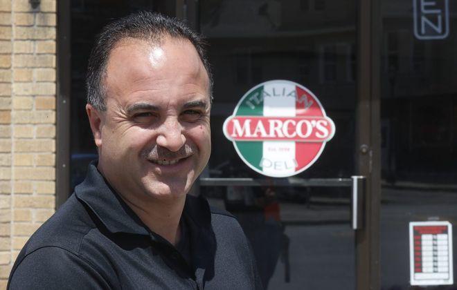 Marco Sciortino, the owner of Marco's Restaurant Marco's Italian Deli, will headline the event.  (John Hickey/Buffalo News)