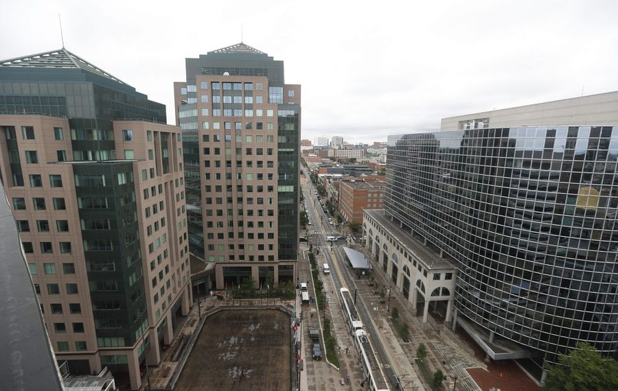 CannonDesign is planning to move its headquarters from Grand Island to Fountain Plaza in downtown Buffalo. (John Hickey/Buffalo News)