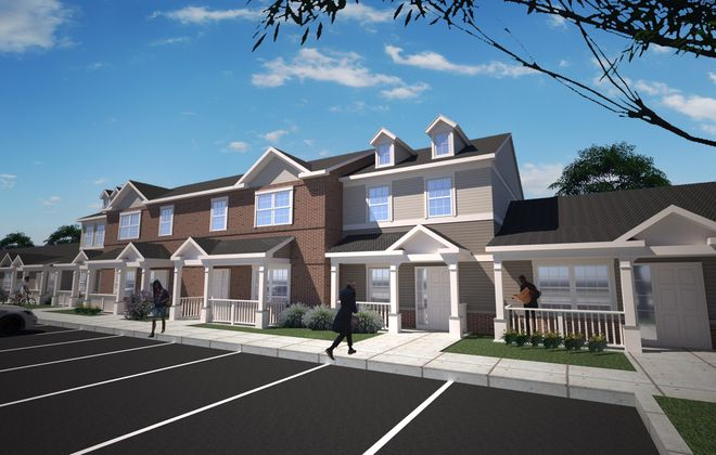 KeyBank is providing financing for Elim Townhomes. (Provided by Elim Community Development Corp.)