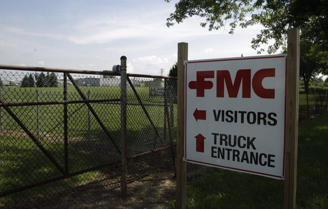 The DEC plans more soil removal near the FMC Corp. plant in Middleport this summer. (News file photo)