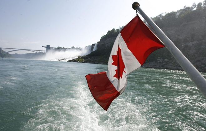 Canada is encouraging residents to avoid international travel due to the COVID-19 outbreak.  (Buffalo News file photo)