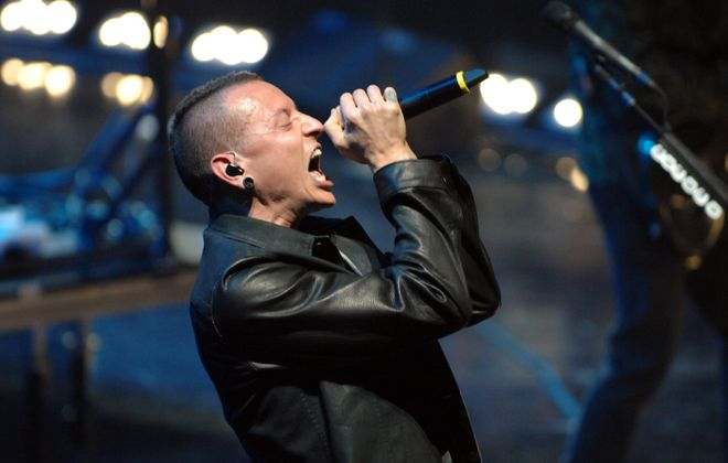 Singer Chester Bennington of Linkin Park suffered from depression for most of his life. (Bryan Steffy/Getty Images for Clear Channel)