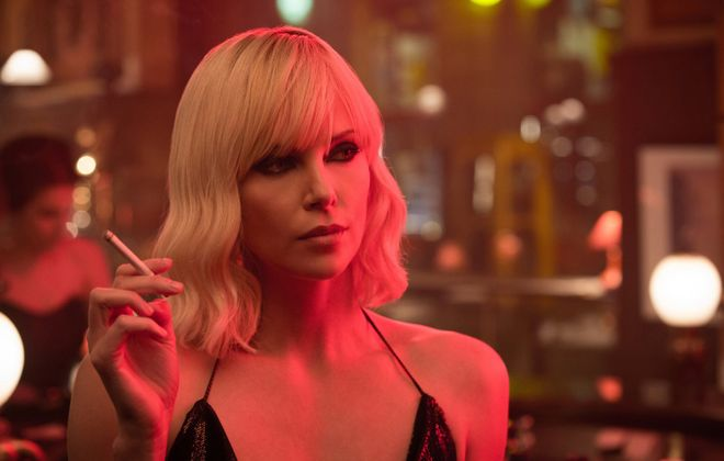 """Charlize Theron in """"Atomic Blonde."""" (Universal Pictures)"""