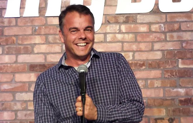 Dan Viola brings his family-friendly comedy to Rob's Comedy Playhouse July 15. (Courtesy of Dan Viola)