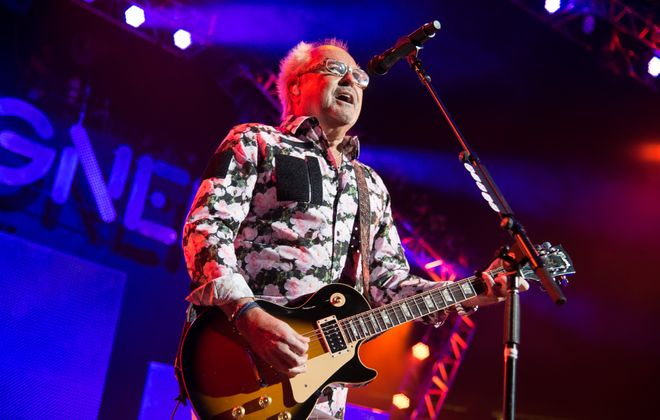 Mick Jones and Foreigner return to the Darien Lake Performing Arts Center for a show on July 21. (Getty Images)