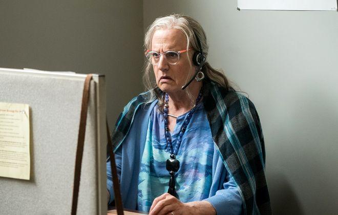 "Jeffrey Tambor as Maura Pfefferman in Season 3 of ""Transparent."" (Amazon Studios)"